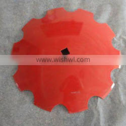 18 inch round and notched disc blades