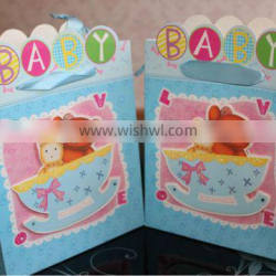 2013 high quality lovely kids 3D birthday party gift bags