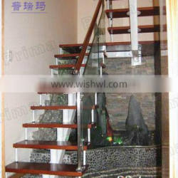 Simple wooden prefabricated stairs, stair products, stair systems