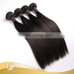 2017 New arrival top grade 7a virgin malaysian straight human hair weave Fashion