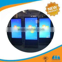 42 Inch Stand Alone LCD Touch Screen Advertising Digital Signage With video Display