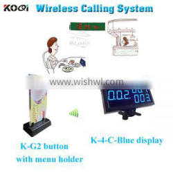 simple queue management system with wholesale price 3 button transmitter receiver