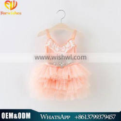 Kids Clothes New Model Girl Dress Cotton Girls Party Dresses 2016 New Arrival