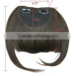 tassel fringe human hair/Cheap and Top Quality Heat resistant Synthetic Hair piece