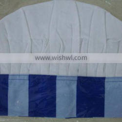 cotton wholesale chef hats for personalized, customized logo available , white chef hat -3