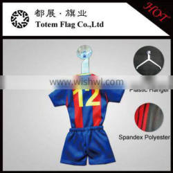 Sublimation Car Mini T-shirts With Hanger