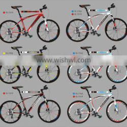 multi-painting designed new arrival bicycle aluminum alloy 6061 demo mountain bikes for sale
