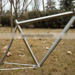 Titanium Bicycle Road Frame (special dropout design compatible single and multi speed)