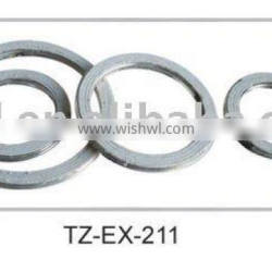 Exhaust gasket for cars or motorcycles
