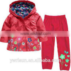 Latest Wholesale Children Custom Jacket With Long Pants For 2-6 Years