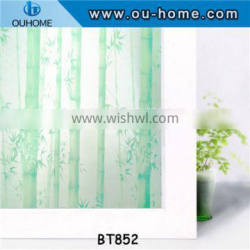BT852 Waterproof PVC Frosted Privacy film