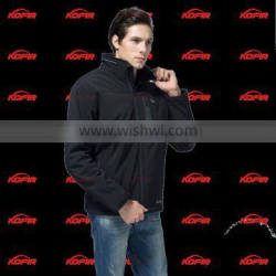 KCFIR far infrared rechargeable motorcycle heated jacket with 5200 mah li battery
