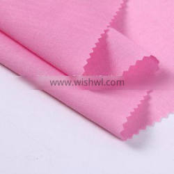 Plain Woven Stretch Combed Cotton Poplin Fabric with Elastane