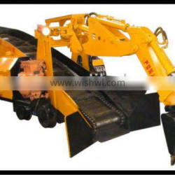 underground small mucking loader 48m3/h for coal mining wheel loader