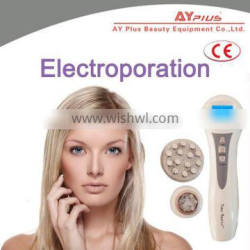 portable electroporation machine body and face time master AYJ-A168