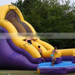 2015 lastest style beautiful inflatable pool water slide WS010