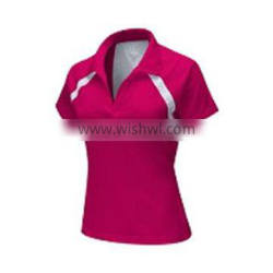 Womans T-Shirt With Collar DALL0000079