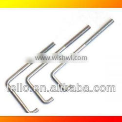 customized stainless steel j l bolt with nut