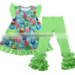 lovely summer baby balloon cotton girls boutique remakes outfit