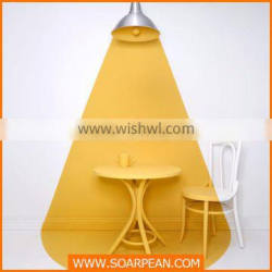 Modern New Products Fiberglass Dining Table And Chair