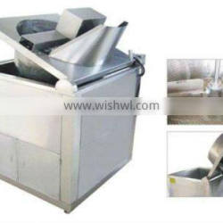 Electric heating oil and water mixed frying machine