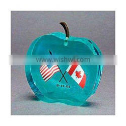 lucite paper weight