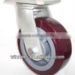small Swivel PU Caster wheels/casters