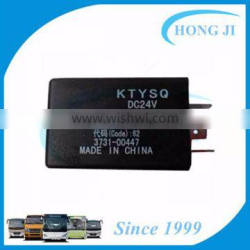 Best selling products 2016 bus parts 24V 3731-00447 time delay relay