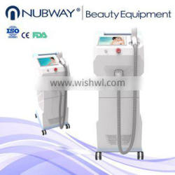 Painless lip face and body quick hair removal loss diode laser 808nm hair removal