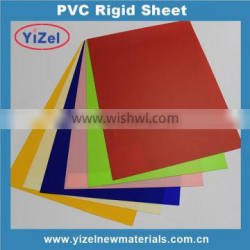 High quality Chinese factory clear 4x8 thin pvc sheet for different application