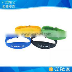Waterproof and Adjustable RFID Wristband for Locker
