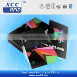 customized rfid paper business card