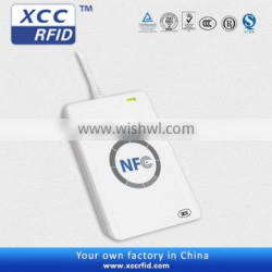 NFC reader-writer for access control