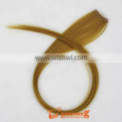 No Virgin Hair and Clip-In Hair Extension Type one pcs clip in synthtic hair