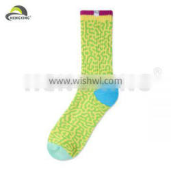 Cotton Jacquard Leopard Pattern Wholesale Elite Socks