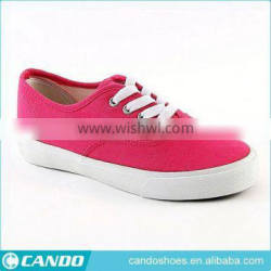 stock shoes new fashion colorful girls canvas kids casual footwears