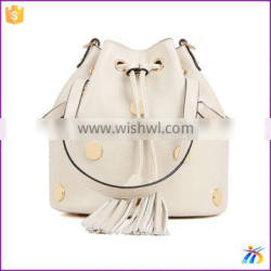 Tassels Women Shoulder Bags bucket stock lot of ladies bags china supplier