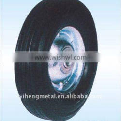 7inch Solid rubber wheels