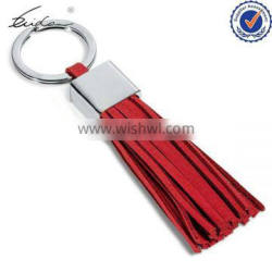2015 NEW DESIGN POPULAR HIGH QUALITY LEATHER TASSEL KEYRING