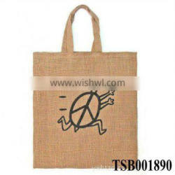 hot sale fashion promotional used jute bags