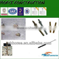 Horse 4.8 Grade M20 Chemcial Anchor Bolt with capsule