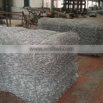 protecting the river bank galvanized gabion basket prices