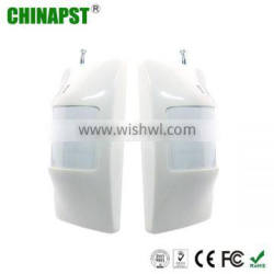 2013 Best Selling 110 Detecting angle PIR Wireless Outdoor Pir Motion Sensor With FCC,CE,UL,RoHS Approved PST-IR201