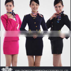 ladies fight attendant uniform