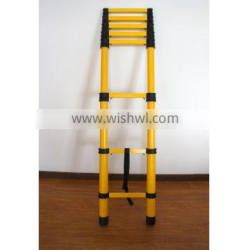 Factory direct selling portable telescopic step ladder
