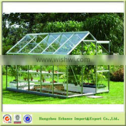 Transparent PC and aluminium frame Garden greenhouse promotional cheap-FN2024