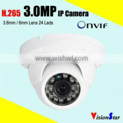 Plug and play home security cctv dome IP camera 4mp HD 1080P