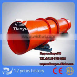 Tianyu Brand Stainless Steel Rotary Dryer Paypal Acceptable