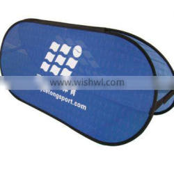 Advertising Horizontal Pull Out Bean Frame Banner For Event