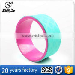 Wholesale High Quality ABS Tube Yoga Wheel With Customized Logo